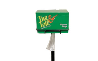 Tug & Tote exclusive bagging system